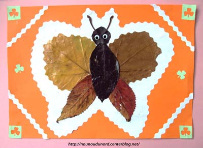 Fabriquer un joli papillon !
