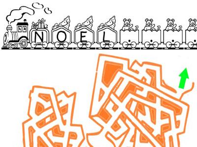 Labyrinthe de Noel
