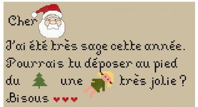 Vite, la lettre au Père Noel