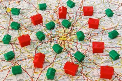 Carte des Relais d