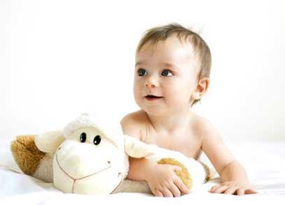 """Le doudou de bébé: """"jamais sans mon doudou !"""""""