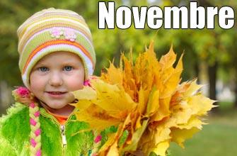 En Novembre, ne te découvre ....